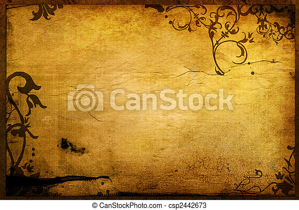 Blumenstile und Hintergrundbilder - csp2442673
