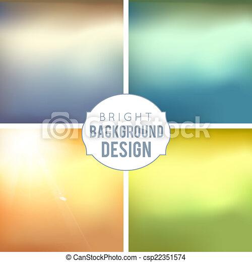 Blur Hintergrund eingestellt - csp22351574