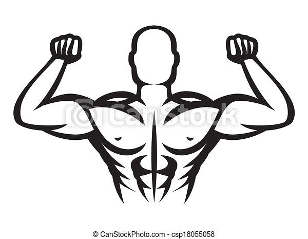 Bodybuilder. - csp18055058