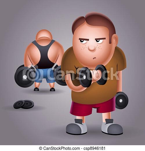 bodybuilder - csp8946181