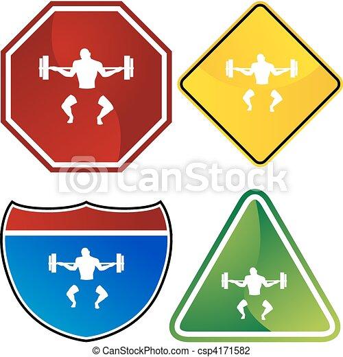 Bodybuilder - csp4171582