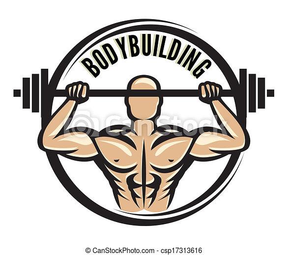 Bodybuilder. - csp17313616