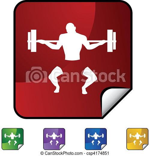Bodybuilder - csp4174851