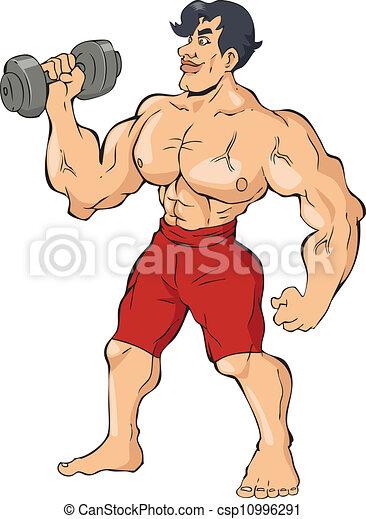 bodybuilder - csp10996291