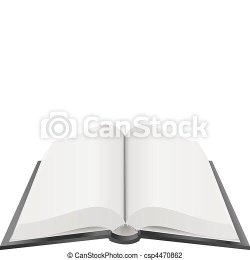 Buch Illustration. - csp4470862