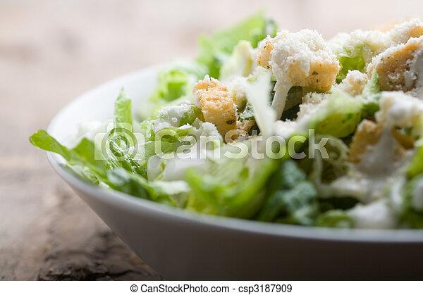 Caesar-Salat - csp3187909