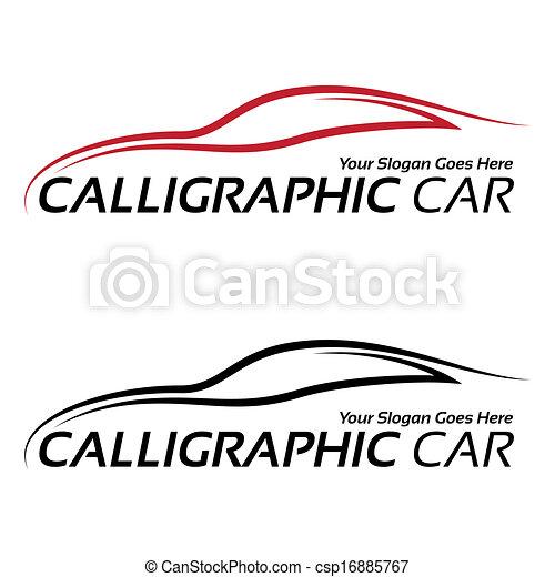 Calligraphische Autologos - csp16885767