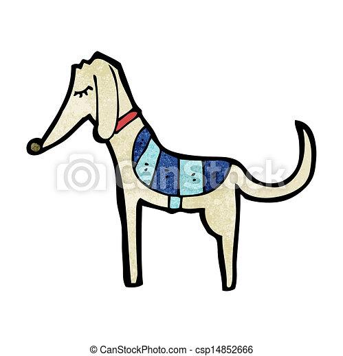 Cartoon Greyhound - csp14852666