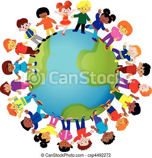 children., glücklich - csp4492272