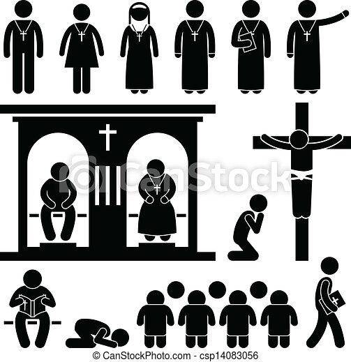 christliche Religionstradition Kirche - csp14083056