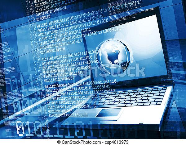 Computergeneration - csp4613973