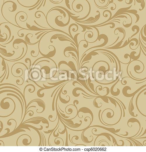 Dekoretives Muster Hintergrund - csp6020662
