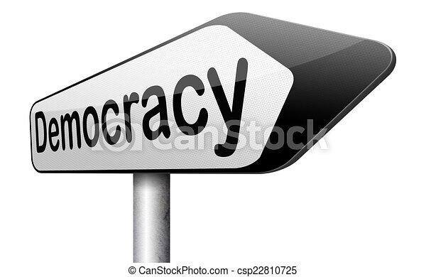 demokratie - csp22810725