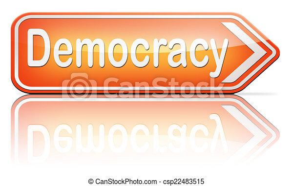 Demokratie - csp22483515