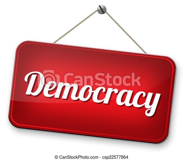 Demokratie - csp22577864