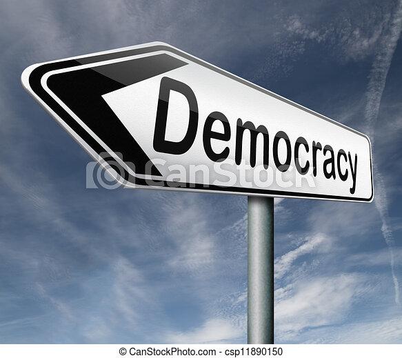 Demokratie - csp11890150