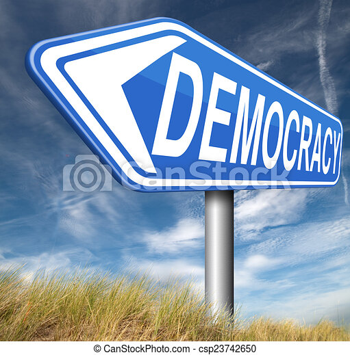 Demokratie - csp23742650