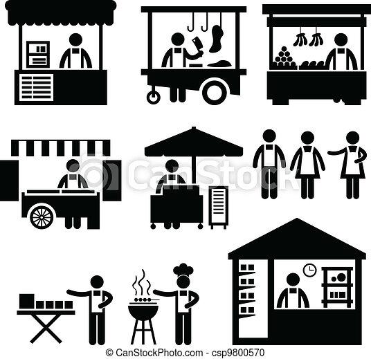 Der Markt für Geschäftsstandorte - csp9800570