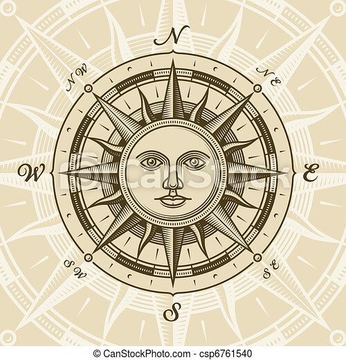 Der Sonnenkompass stieg - csp6761540