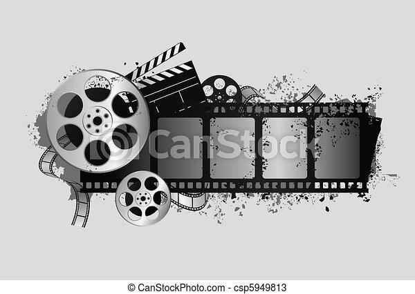 Filmdesign - csp5949813