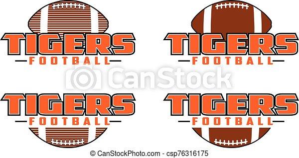 design, fußball, tiger - csp76316175