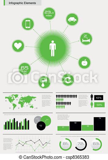 Detail-Infographic Vektor - csp8365383