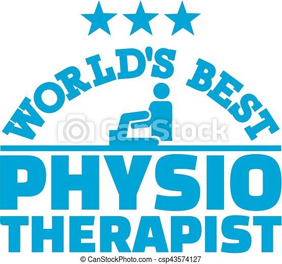 Die beste Physiotherapeutin der Welt. - csp43574127