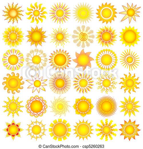 Die Sonne geht auf - csp5260263