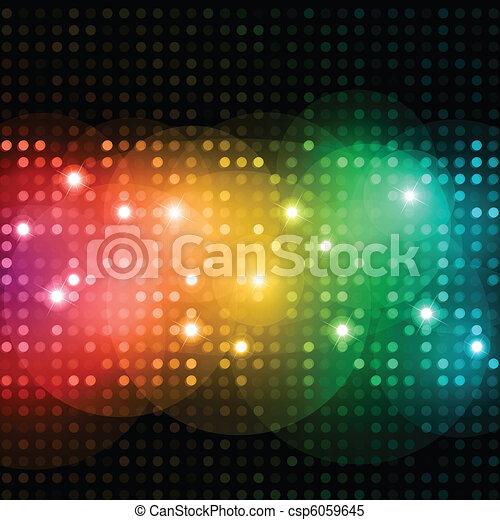 Discolichter - csp6059645