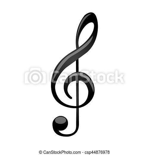 dreifach silhouette zeichen musik monochrom
