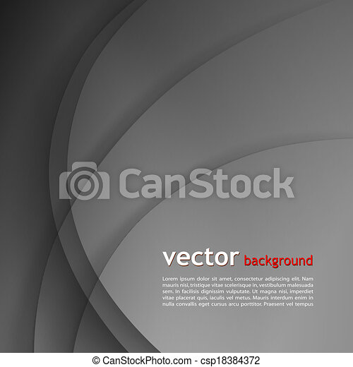Dunkel grauer, eleganter Geschäfts Hintergrund. - csp18384372