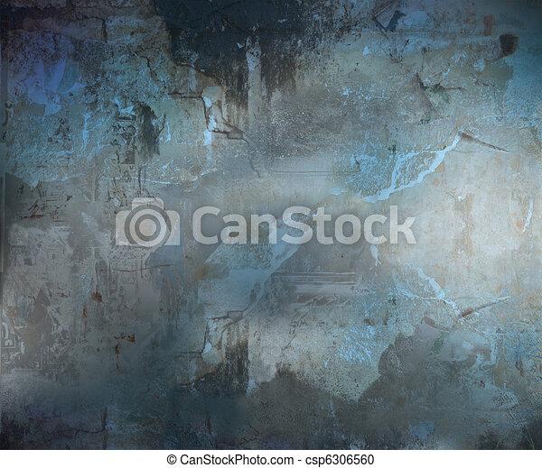 Dunkler Grunge abstrakter Hintergrund - csp6306560
