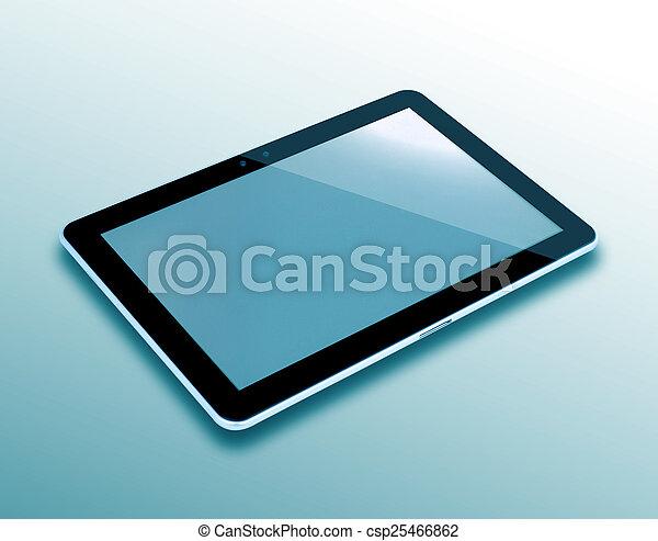Tablet PC Computer - csp25466862