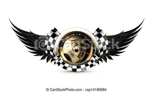 Ein Emblem - csp14189984