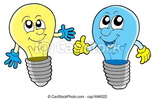 Ein paar süße Glühbirnen - csp1646022