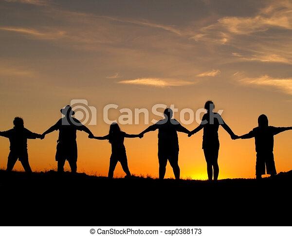 Einheit und Stärke - csp0388173