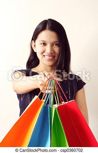 Einkaufen - csp0360702