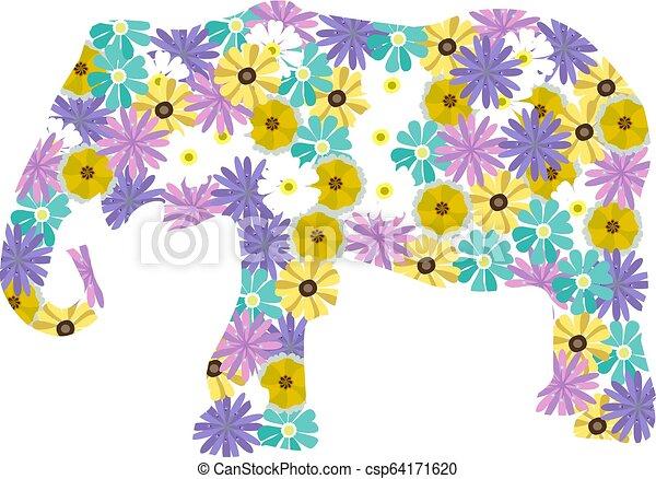 Elefant. - csp64171620