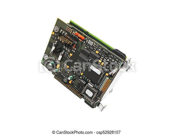 Elektronischer Controller. - csp52928107