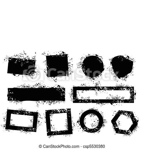 Grungeelemente - csp5530380