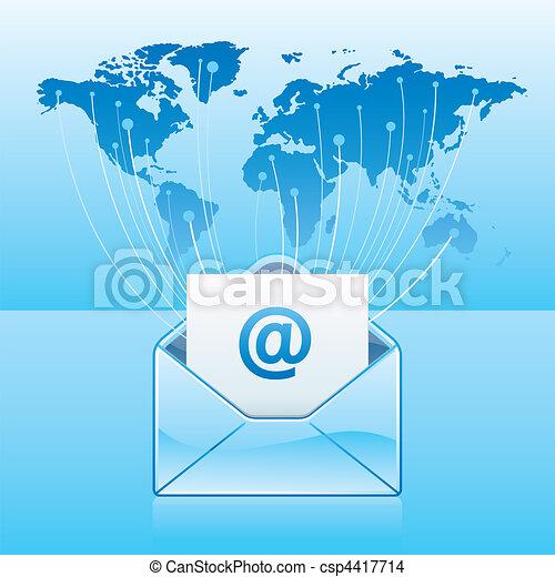 Email-Kommunikation - csp4417714