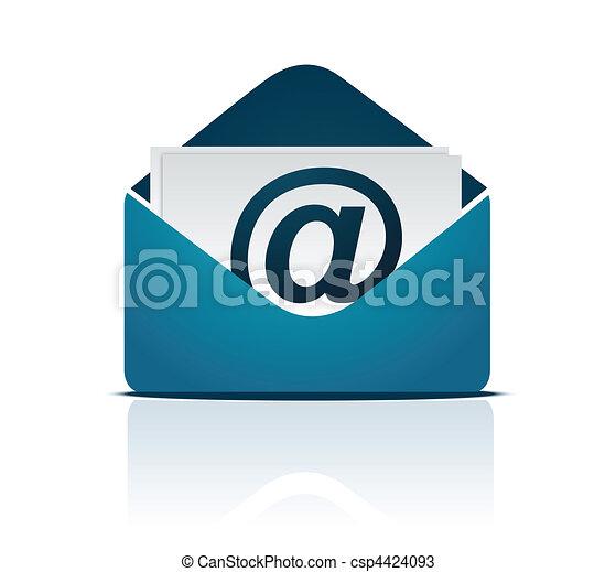 Email sign / Vektor - csp4424093