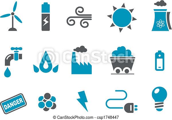 Energie-Icon-Set - csp1748447