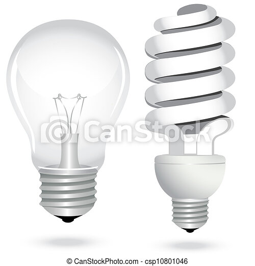 Energieeinsparung von Glühbirnenlampen - csp10801046