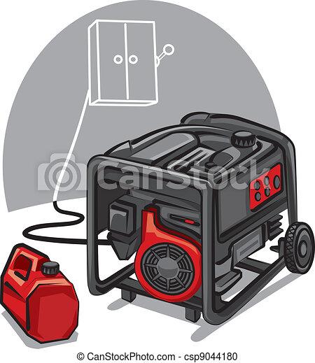 Energiegenerator - csp9044180