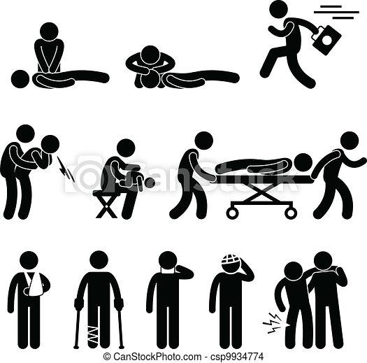Erste-Hilfe-Notfall-Rettung - csp9934774