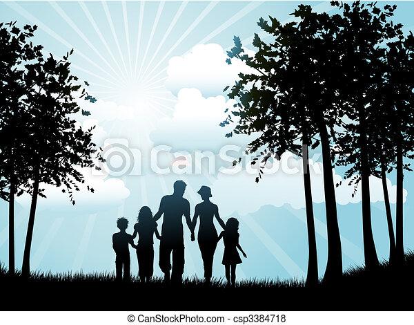 Familienfeier - csp3384718