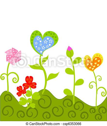Fantasy Blumen - csp6353066