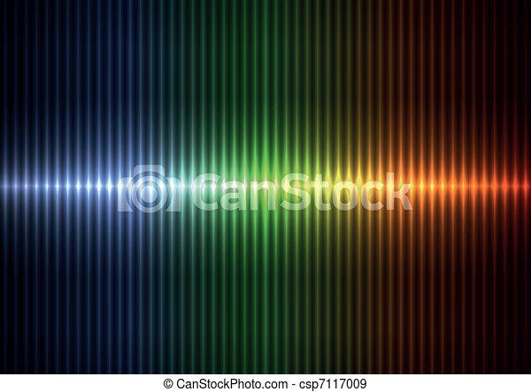 Farbige verschwommene vertikale Schnitte - csp7117009