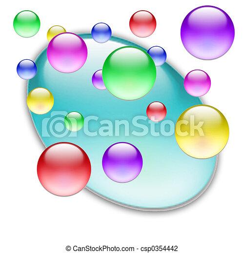 Farbkugeln 09 - csp0354442